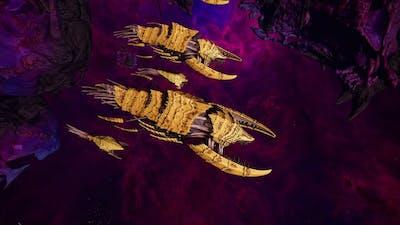 Skalgrim Mod 2021: Tyranids vs Space Marines - Quick Battle, Battlefleet Gothic Armada 2