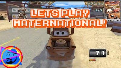 Disney Cars Mater-National GamePlay!