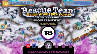 Rescue Team 10 CE - Level 18 Walkthrough - Danger from Outer Space!