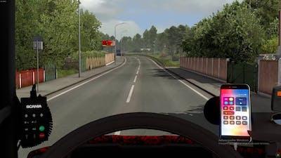 Euro Truck Simulator 2-Scania R520 V8(Beyond the Baltic sea)