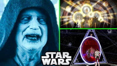 Palpatine's Point of View of The World Between Worlds CANON