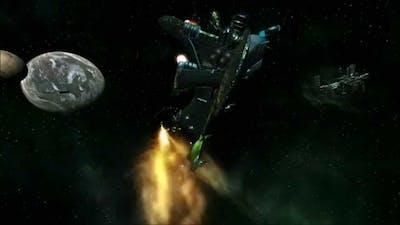 The Naginata Frigate. X3 Terran Conflict mod.
