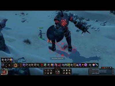 Pillars of Eternity II - Deadfire - Megaboss Dorudugan - Solo Single Class Monk PotD Upscaled