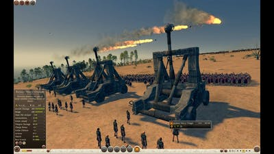 Total War Attila(+blood & gore): Onager hellstrike(highest settings,no commentary)