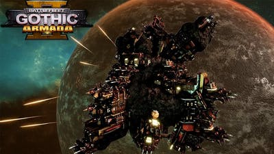 MEGA ROKS ORKZ VS NECRONS Battlefleet Gothic: Armada 2 Multiplayer Gameplay