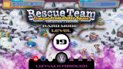 Rescue Team 10 CE - Level 19 Walkthrough - Danger from Outer Space!