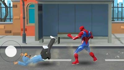 Iron Spider Hero Fighting Arena Battle | Spider Hero Street Fight - Android GamePlay