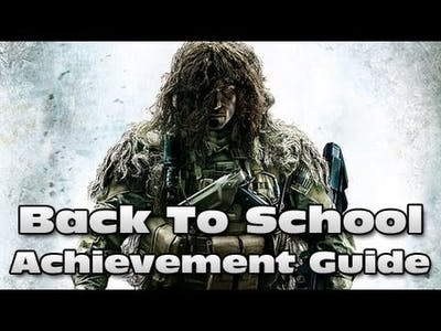 Sniper Ghost Warrior 2 - Back To School Achievement / Trophy Guide