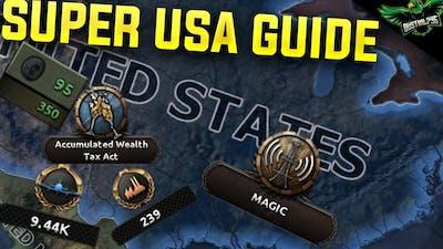 HOI4 USA Guide (Hearts of Iron 4 Man the Guns america Guide)