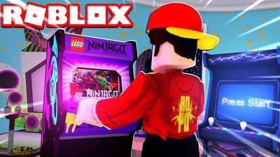 BUILDING MY OWN ARCADE in Roblox..