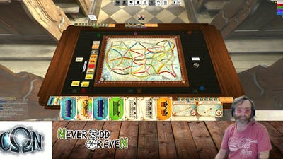Ticket to ride at OmegaCon 2020