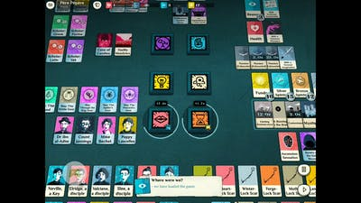 Cultist Simulator : Threshold victory - Priest victory with 7 lock scars - Last steps