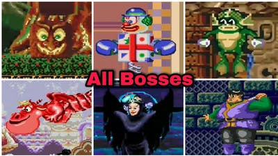 Castle Of Illusion - All Bosses (No Damage)