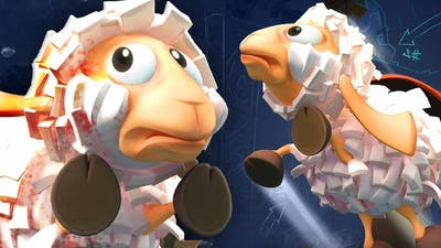 Saving cute and cuddly sheep from certain doom in the game Flockers