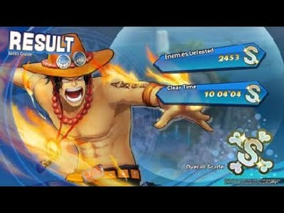 """ONE PIECE: PIRATE WARRIORS 4 """"Fire Fist"""" Ace Gameplay"""