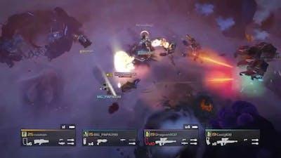Helldivers - MLS-4X 'Commando' vs Bugs (Level 11)