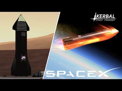 Starship: Earth Return - KSP Cinematic