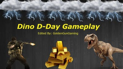 Dino D-Day Gameplay (OP Dino's , Flamethrower Spammer).