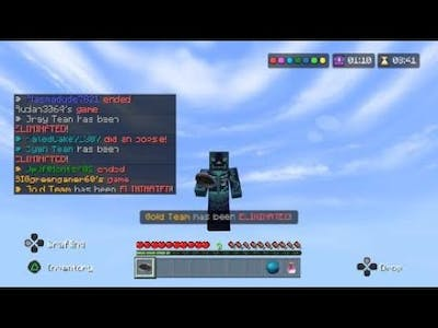 New texture pack and being accused of hacks (Hive)