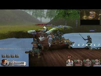 Wars and Warriors Joan of Arc: Gameplay RTS and Third-Person