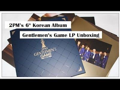 [Kpop Unboxing] 2PM Gentlemen's Game LP Limited Edition