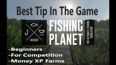 Fishing Planet, Best Tip In The Game For Beginners, Competitions, Xp Money Farms