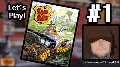 Let's Play Sam & Max Hit the Road ■ Episode 1 ■ Drop That Bomb