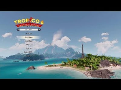 Tropico 6 Sandbox  EP 1; Getting Started  (Generated Map, 3 Dlcs)