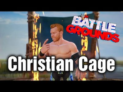 Christian Cage In WWE 2K Battlegrounds Gameplay