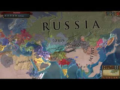Europa Universalis IV - Relentless Push East Achievement (Completed Nov 11, 1562)