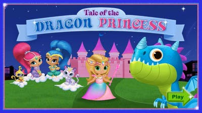 Shimmer and Shine Tale of the Dragon Princess - Full Game in HD Episode 1