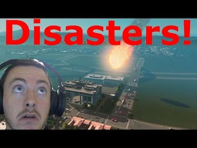 Natural Disasters DLC Cities Skylines! (Every Disaster)