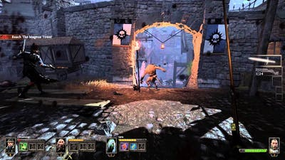 Warhammer - End Times Vermintide Pt2 Claymore sword now!