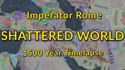 Imperator Rome | Shattered World Timelapse | 1500 Years