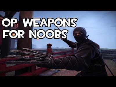 Chivalry:Deadliest Warrior Ninja Gameplay Montage Op weapons are for noobs