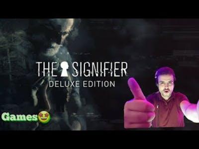 لعبة الالغاز و الرعب الجديدة The Singnifier