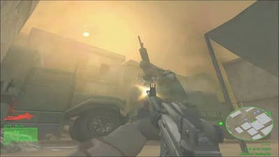 Delta Force Black Hawk Down Team Sabre Walkthrough No Commentary Mission #5 Besieged | Kciapg