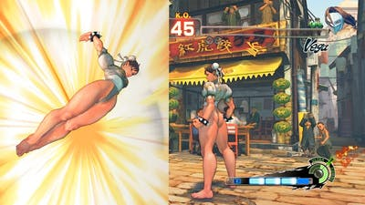 Ultra Street Fighter IV Chun Li vs Vega PC Mod