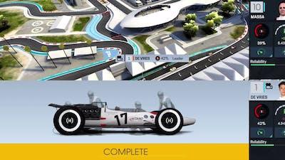 Motorsport Manager Online gameplay
