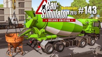 Bau-Simulator 2015 Multiplayer #143 - Das HAUS steht! CONSTRUCTION SIMULATOR Deluxe