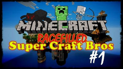 (RAGEFILLED) Minecraft: Super Craft Bros Brawl! episode 1 - THE DWELLER AND ITS BONE