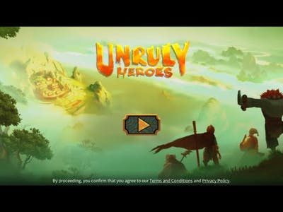 Unruly Heroes Gameplay very interesting game