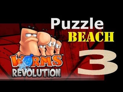 Worms Revolution: Puzzle 8 - Sinking Feeling (Beach 3/5)