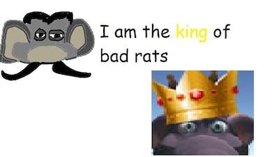 How I became the Bad Rats Show god.