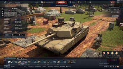 War Thunder Abrams Sim 7 Kill Game