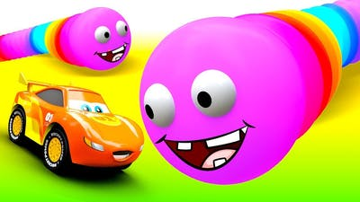 Little Cars and story about Worms from the game