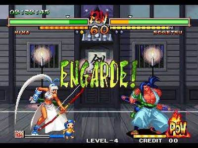 Samurai Shodown V Special arcade 1cc