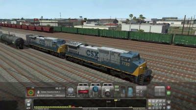 Train Simulator 18 Miami - West Palm Beach // Dash 8 Yard Work