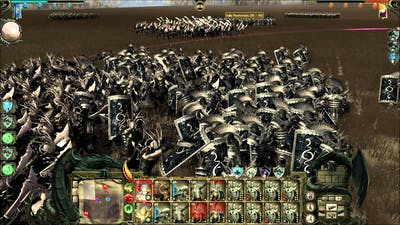 King Arthur 2:Dead Legions - Balor Spawn - Battle Gameplay