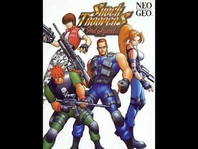 ACA NEOGEO SHOCK TROOPERS 2nd Squad - Hi Score Mode